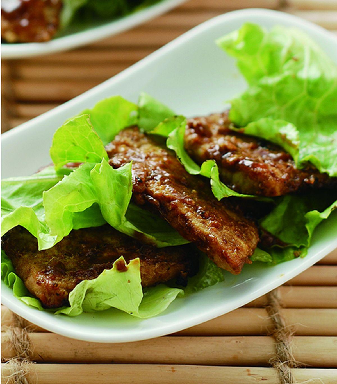 食譜:咖哩沙茶烤肉片