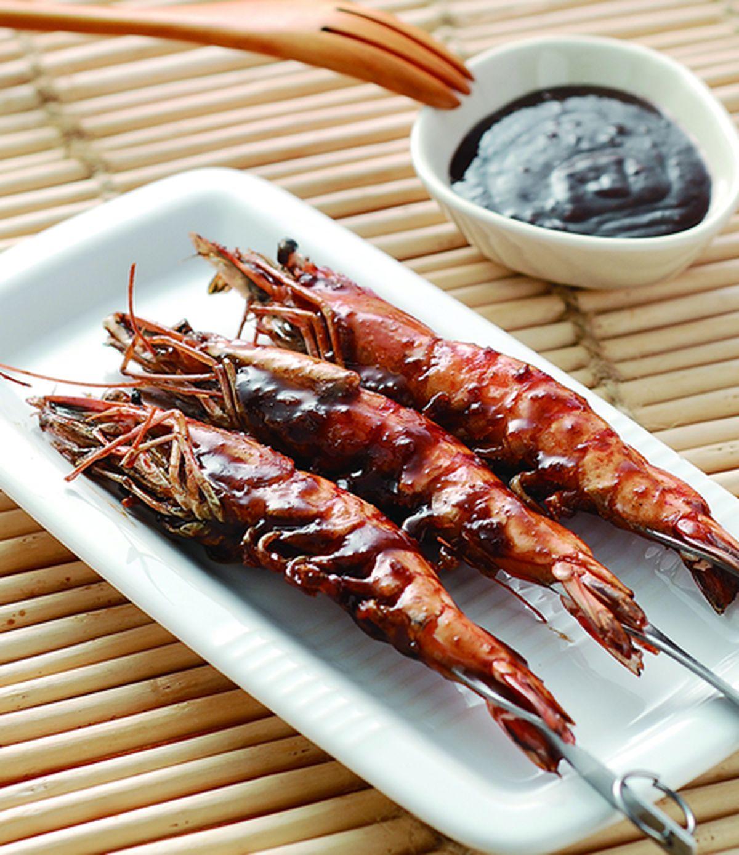 食譜:燒烤草蝦