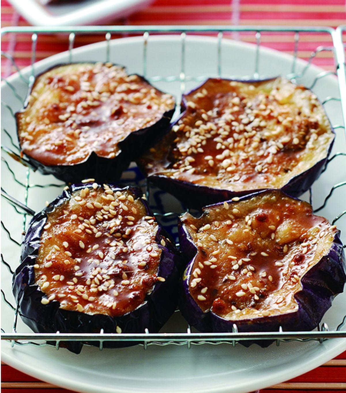 食譜:碳烤圓茄