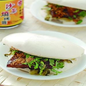 沙茶烤肉刈包