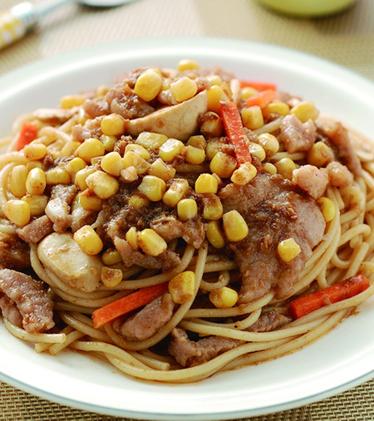 食譜:乾拌沙茶義大利麵