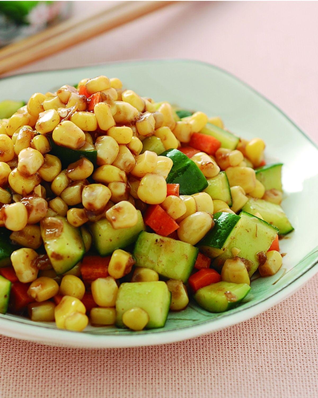 食譜:雙色黃瓜丁