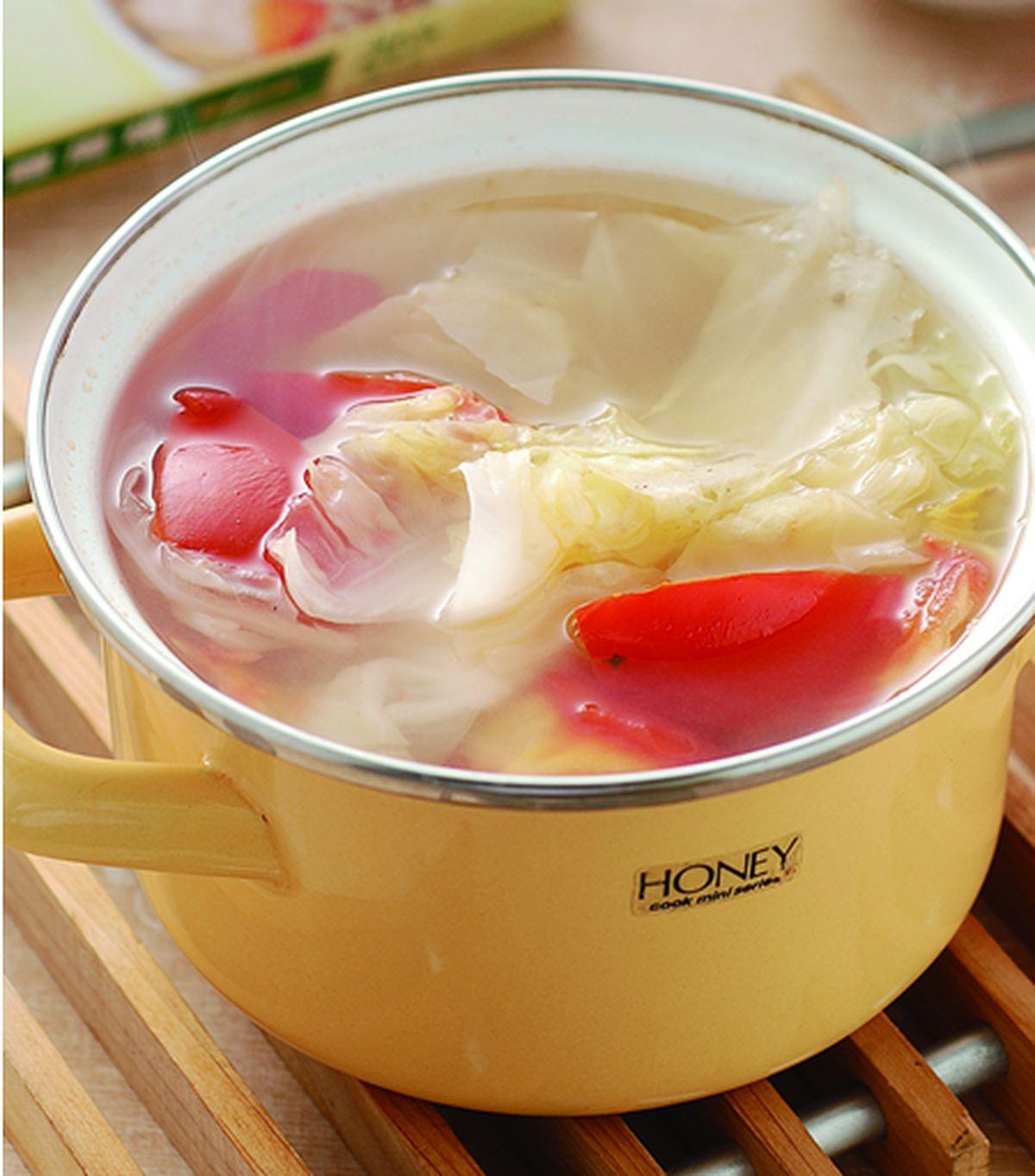 食譜:白菜蕃茄湯