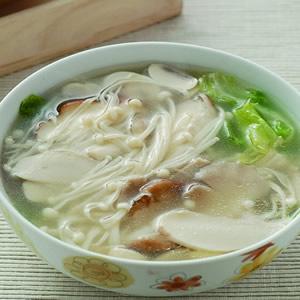 什錦鮮菇湯