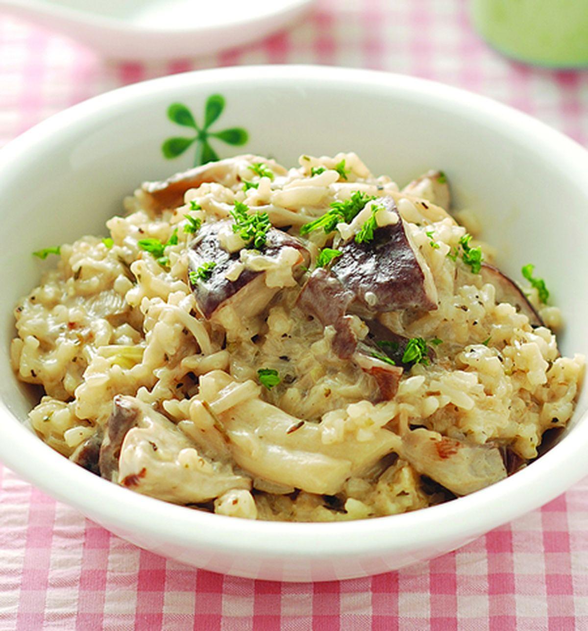 食譜:野菇燉飯(1)