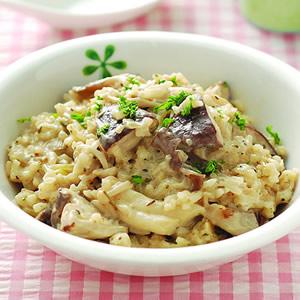 野菇燉飯(1)