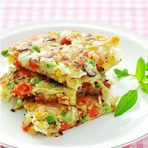 蔬菜煎餅(4)