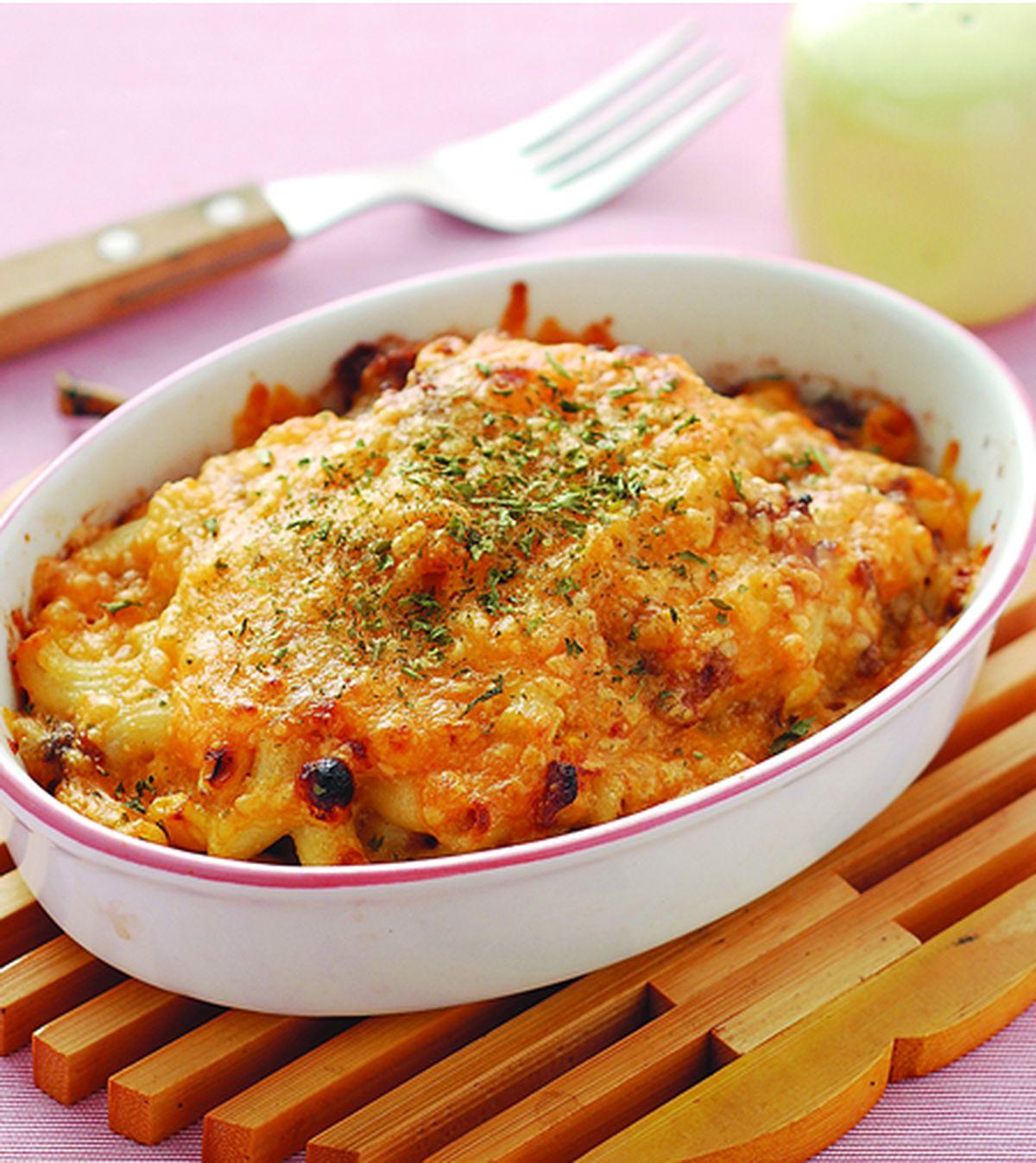 食譜:玉米牛肉焗麵