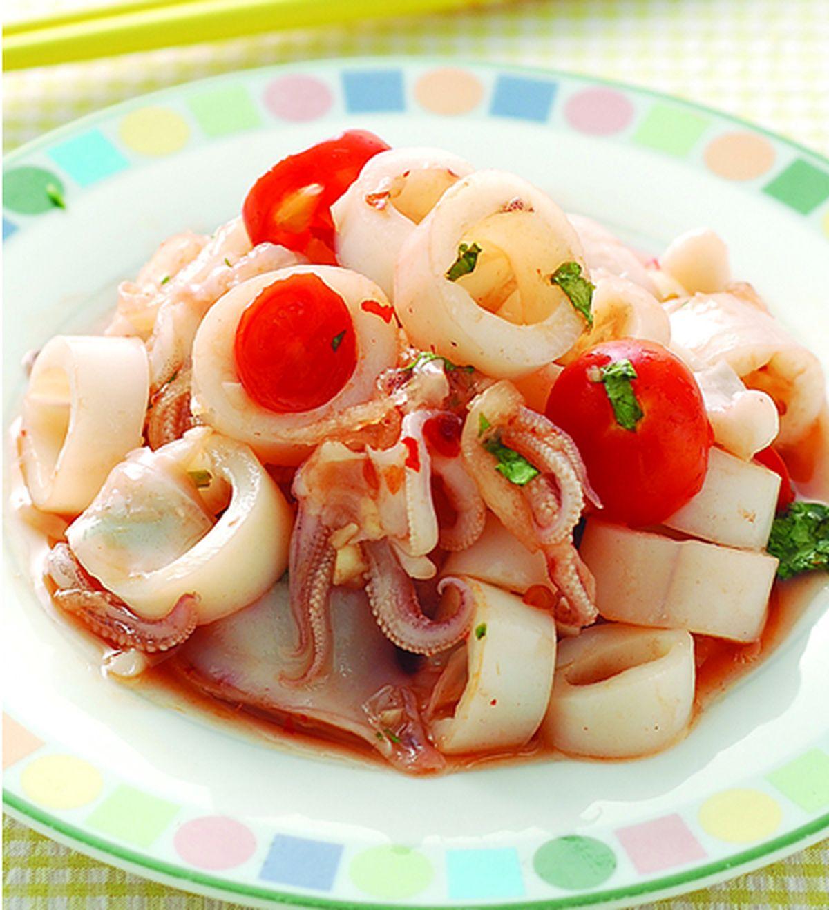食譜:泰式涼拌小卷
