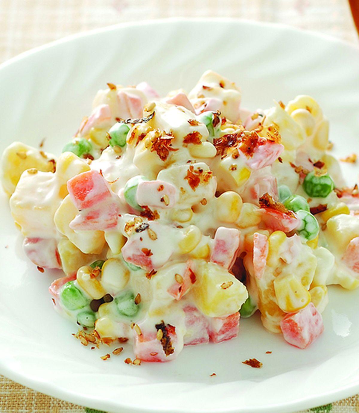 食譜:三色甜薯沙拉