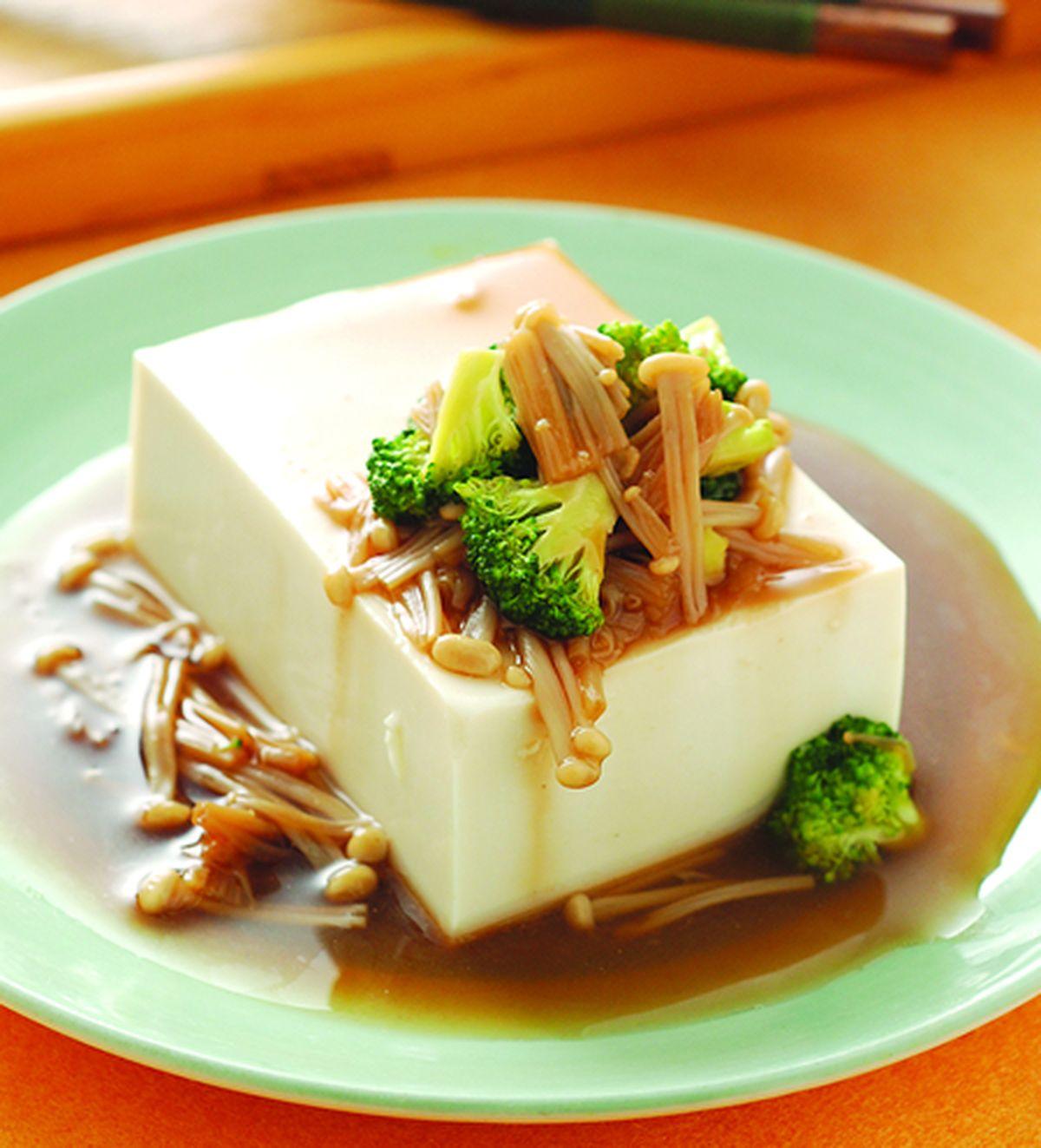 食譜:嫩菇豆腐