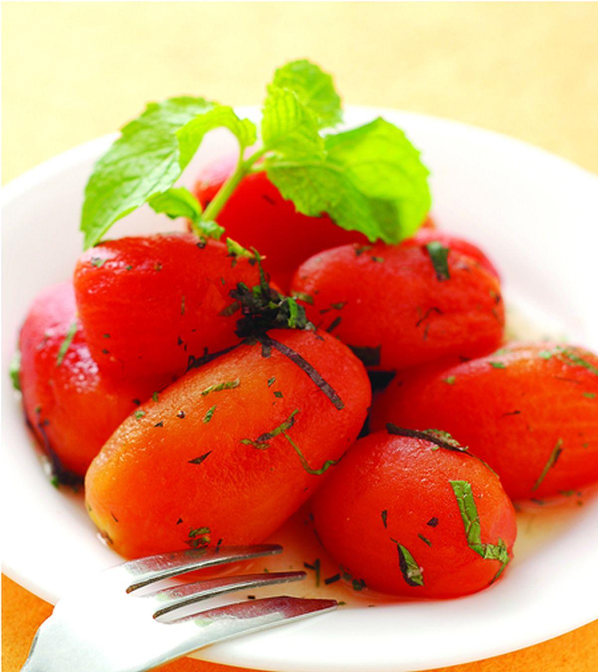 食譜:薄荷紫蘇蕃茄