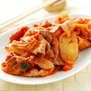 泡菜炒肉片(7)