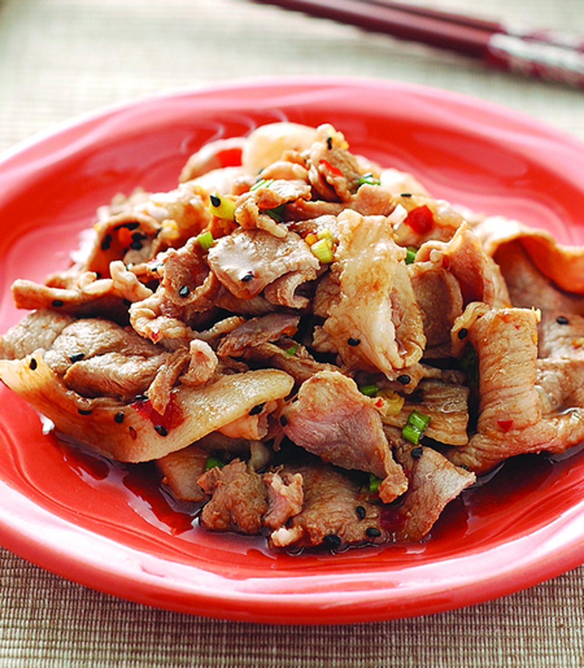 食譜:辣味芝麻雲白肉