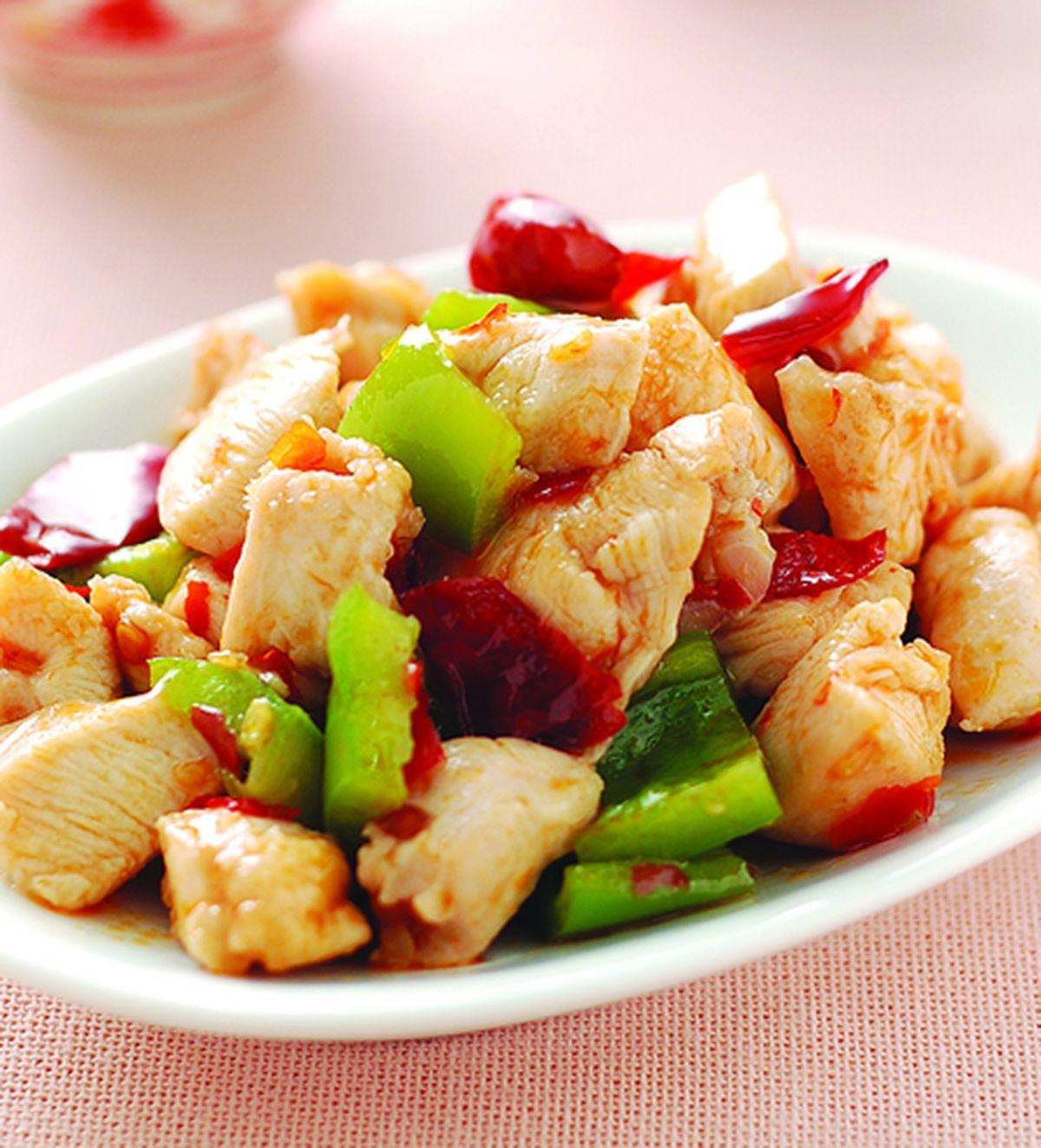食譜:辣炒雞丁
