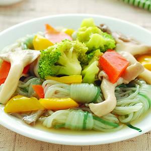 蒟蒻燴蔬菜