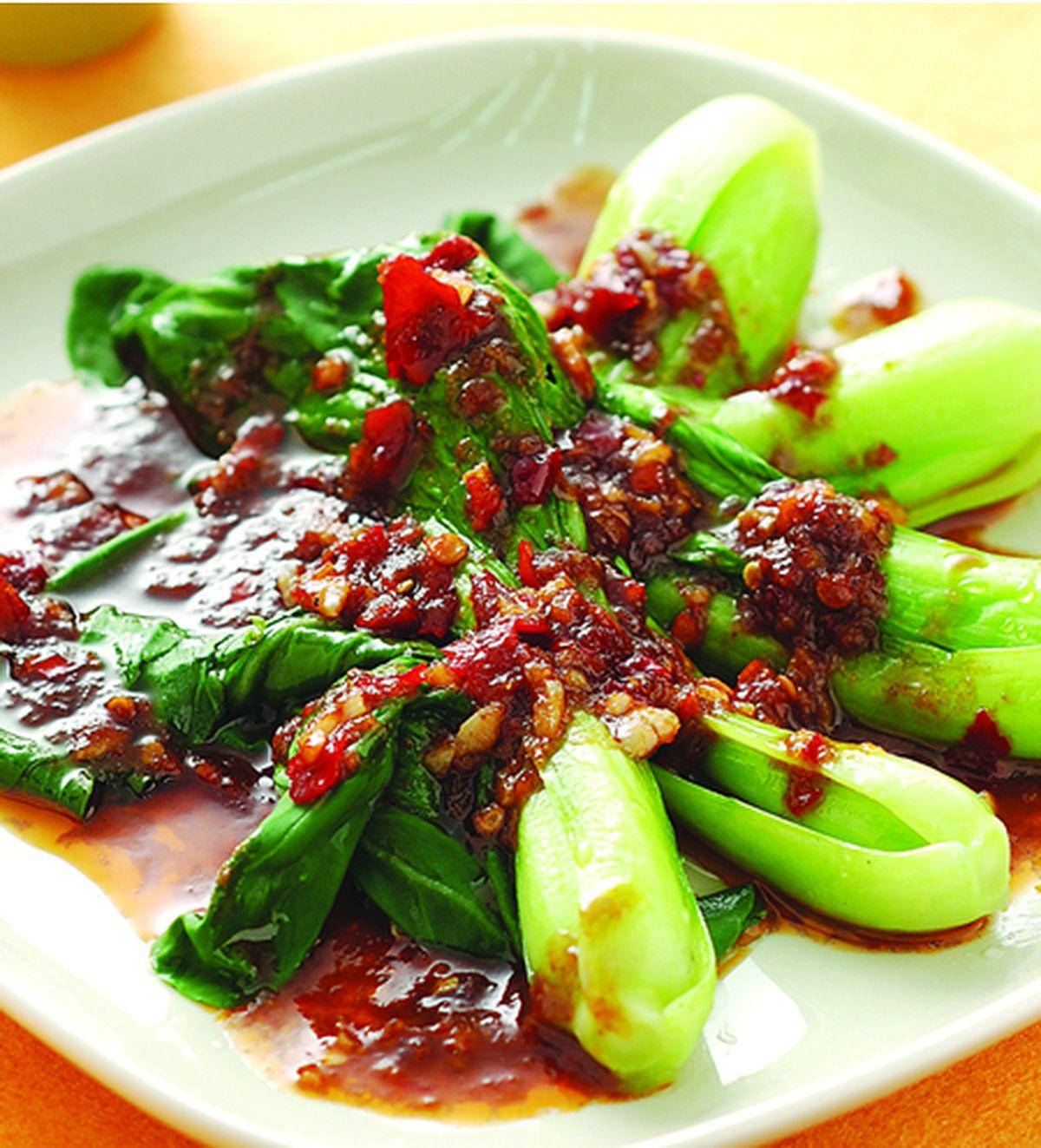 食譜:麻辣沙茶青江菜