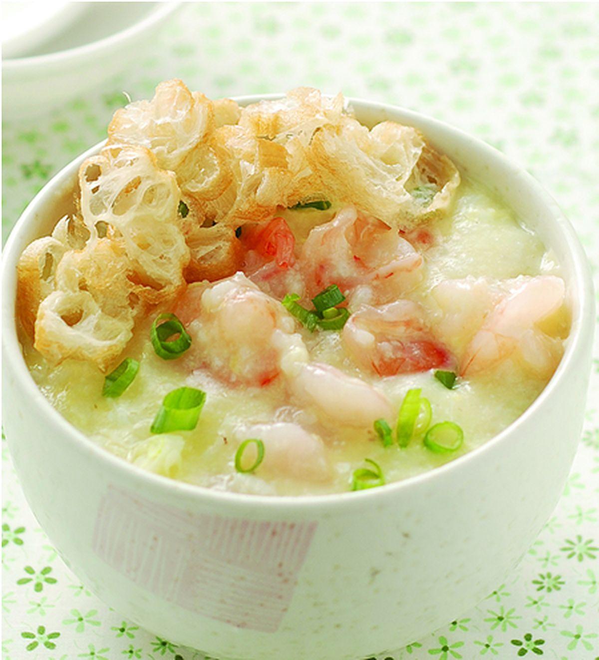食譜:蝦球粥