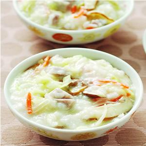 蔬菜鹹粥(1)