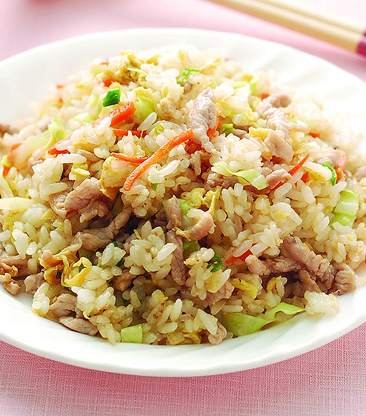 食譜:肉絲蛋炒飯(1)