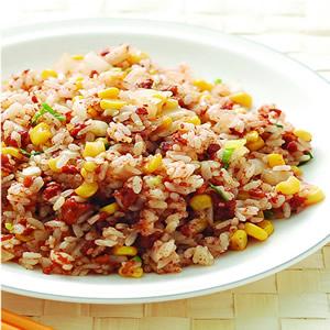 肉醬蔬菜炒飯