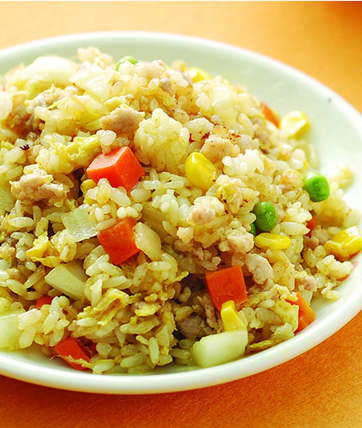 食譜:咖哩豬肉炒飯