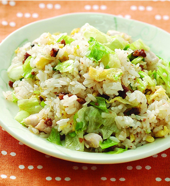 食譜:鹹魚雞粒炒飯(1)