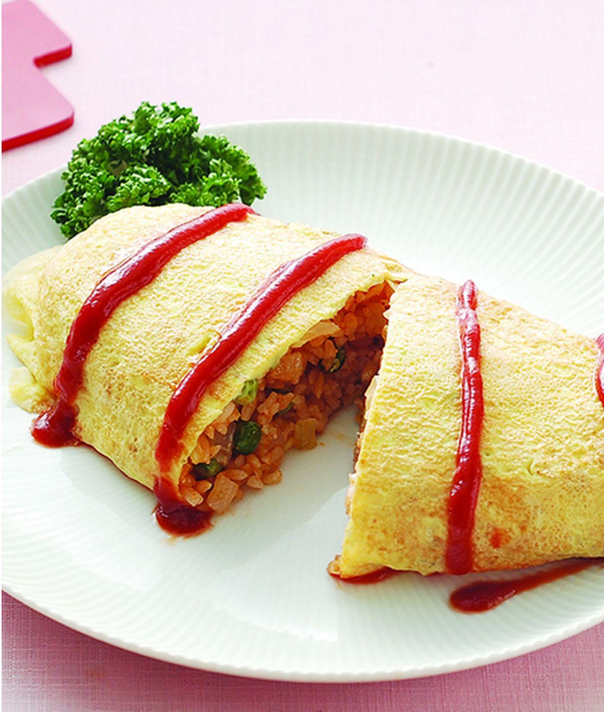 食譜:茄汁蛋包飯(1)