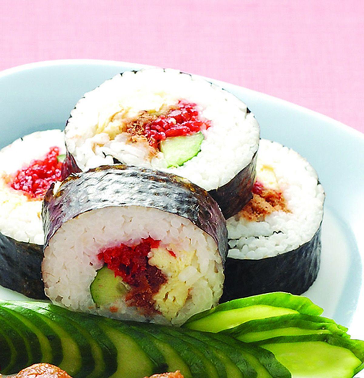 食譜:海苔花壽司