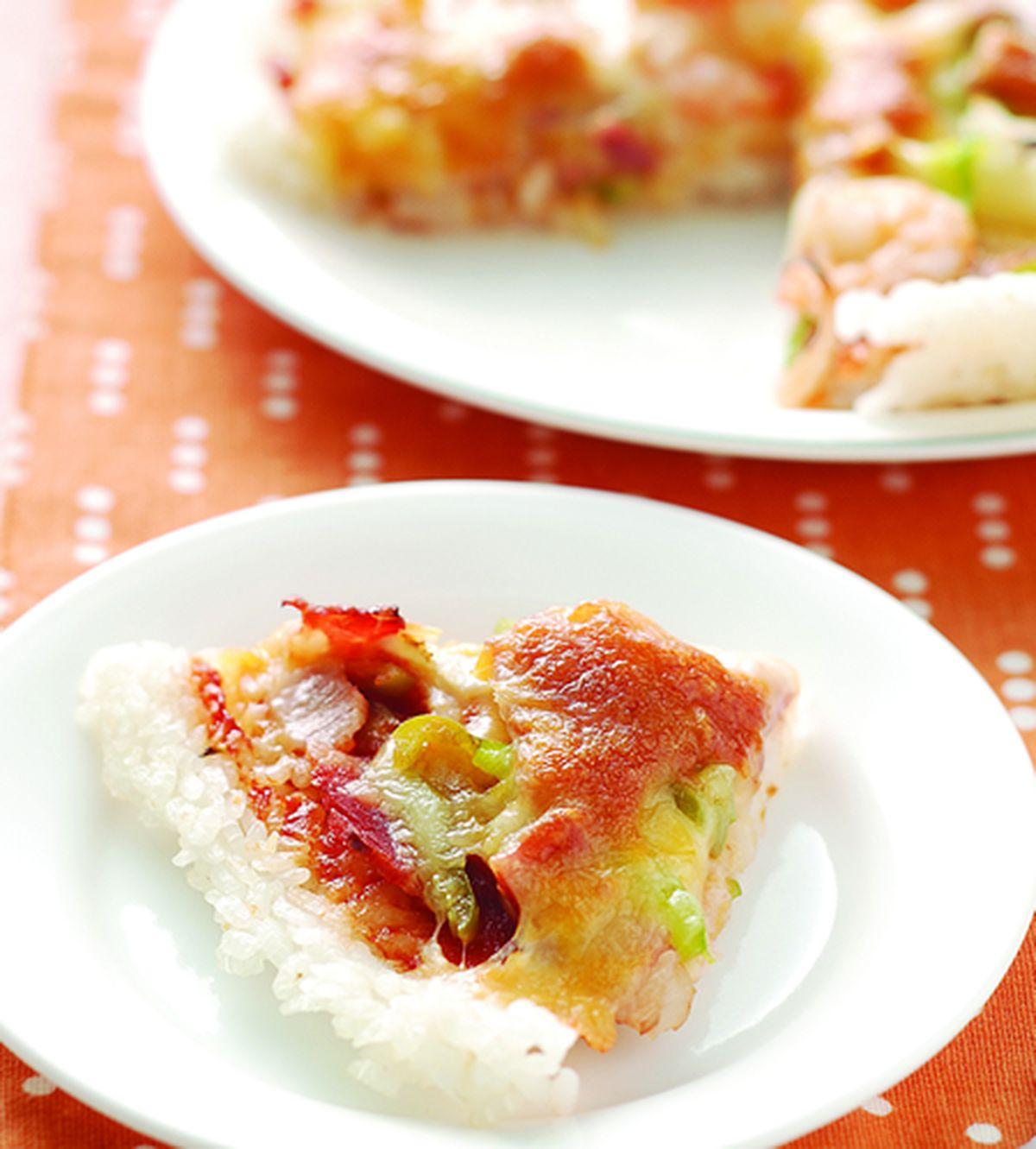 食譜:米飯披薩