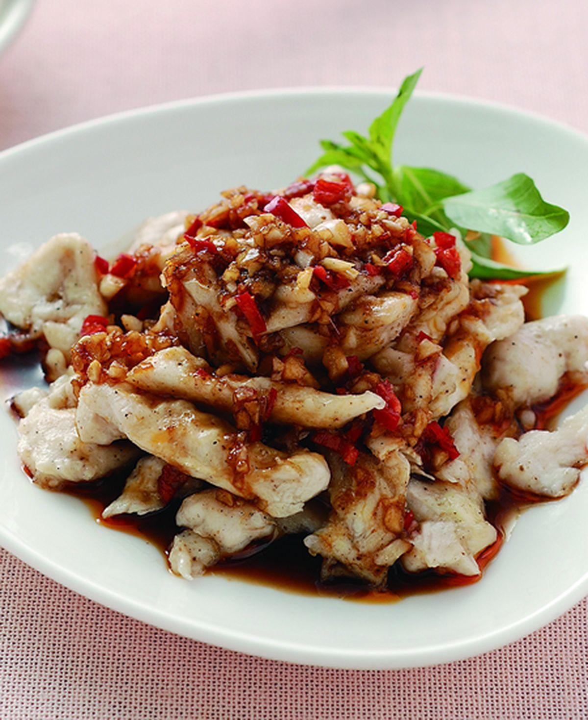 食譜:椒麻雞柳條