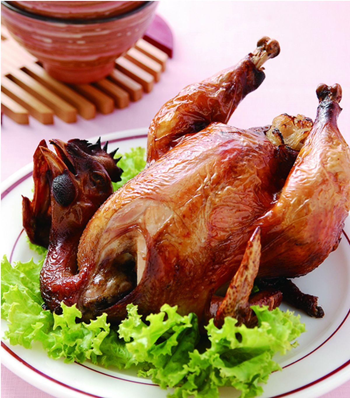 食譜:香蔥烤全雞
