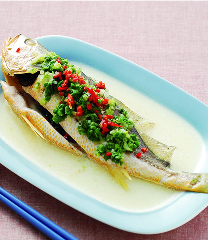 食譜:雪菜黃魚