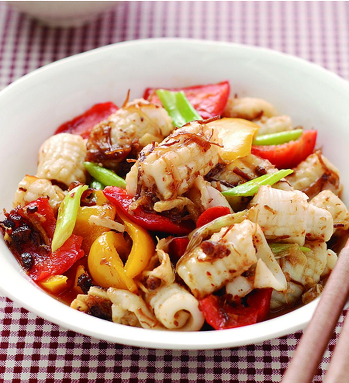 食譜:XO醬炒魷魚