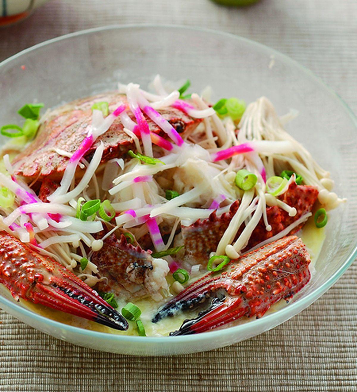 食譜:芙蓉螃蟹