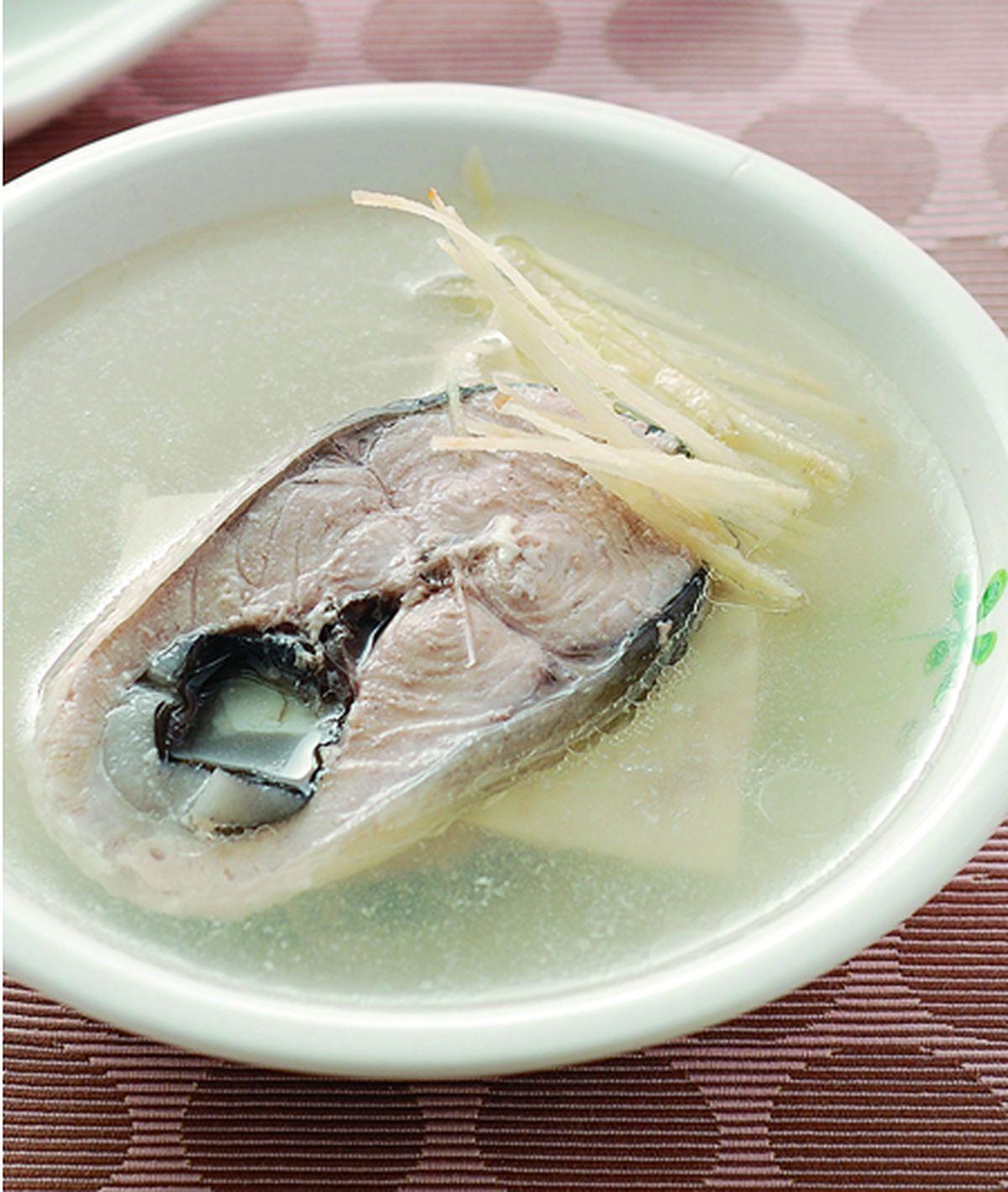 食譜:虱目魚湯