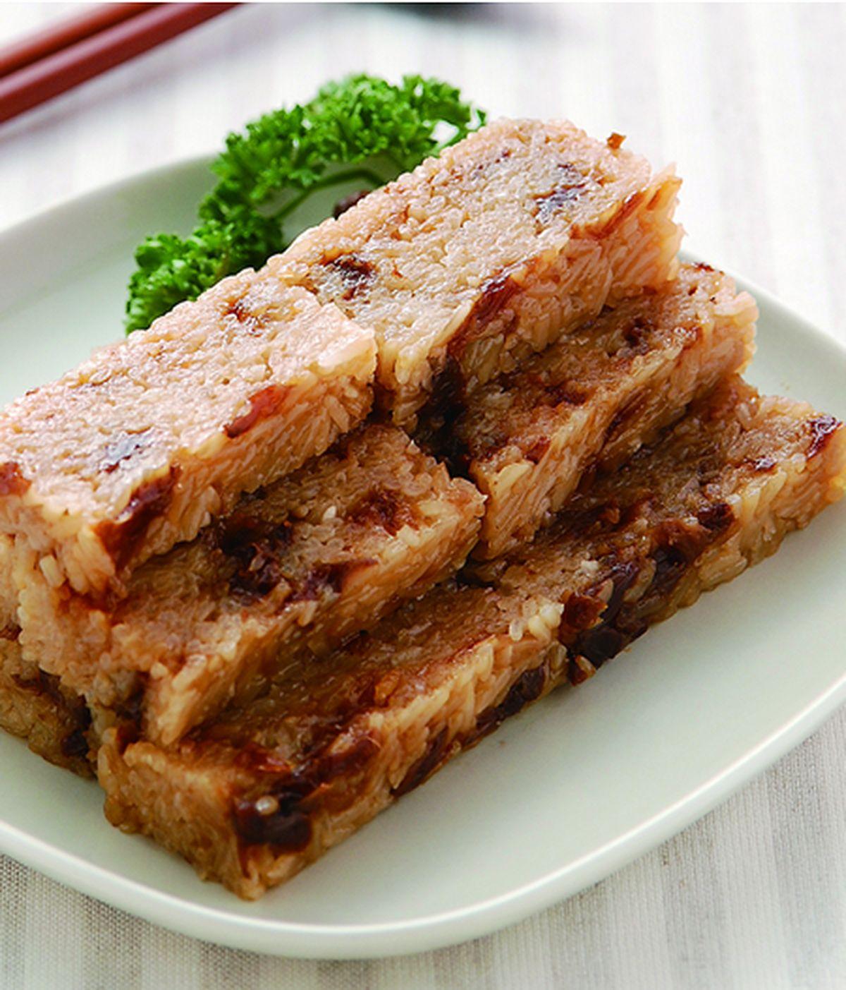 食譜:桂圓糯米糕