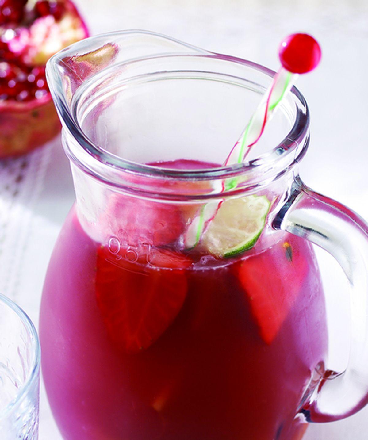 食譜:冰水果茶