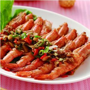 沙茶乾燒蝦