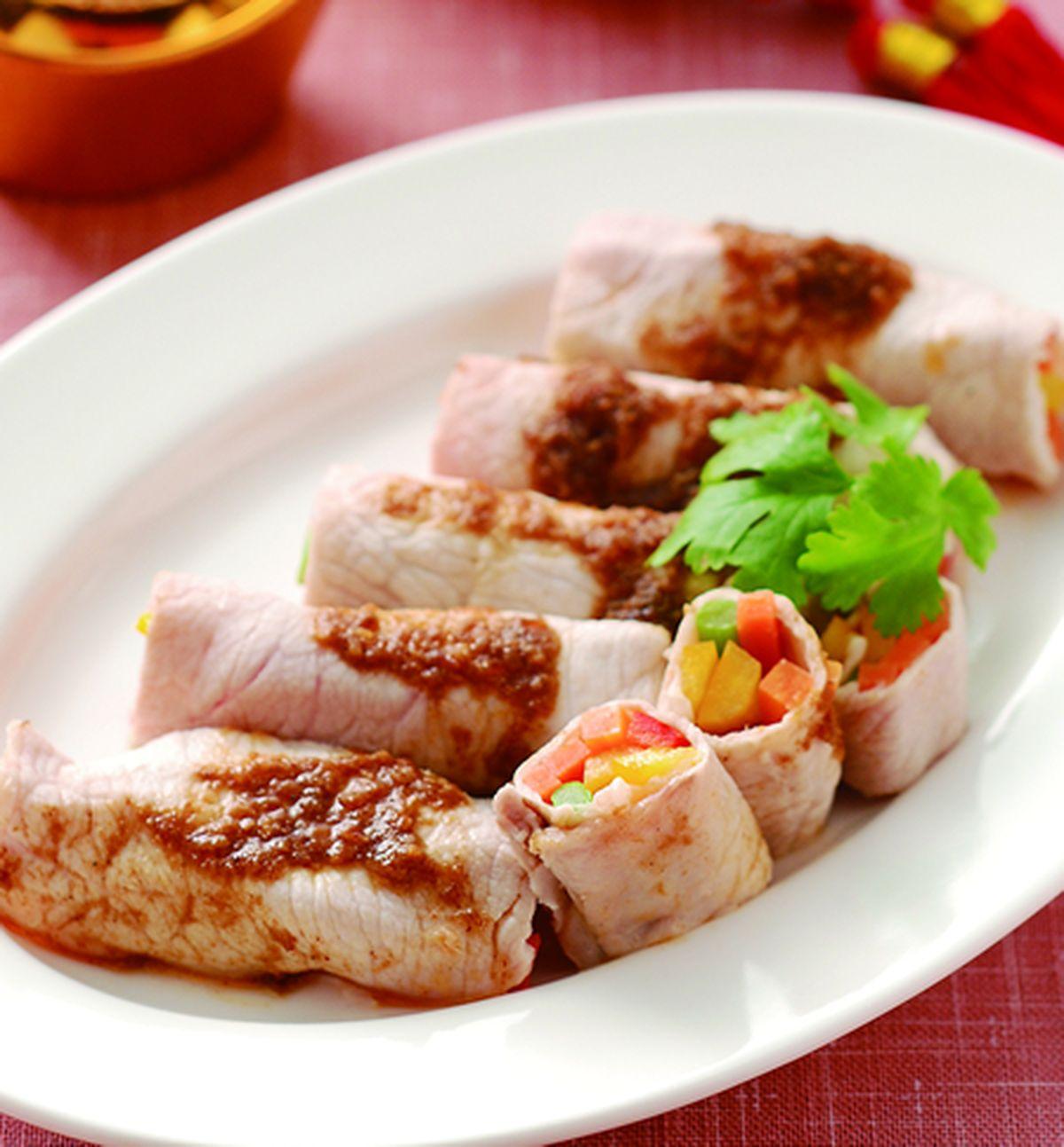 食譜:香煎燒肉卷