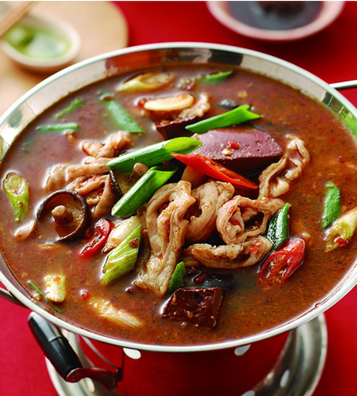 食譜:麻辣腸旺鍋