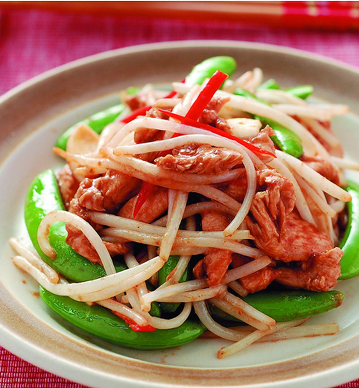 食譜:銀芽炒雞柳