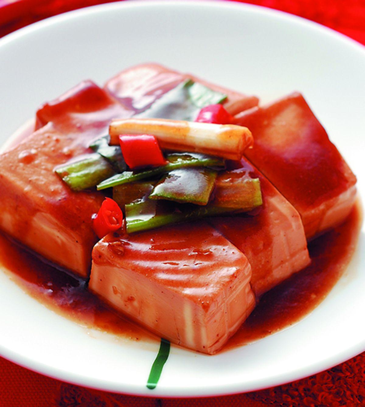 食譜:醬燒嫩豆腐