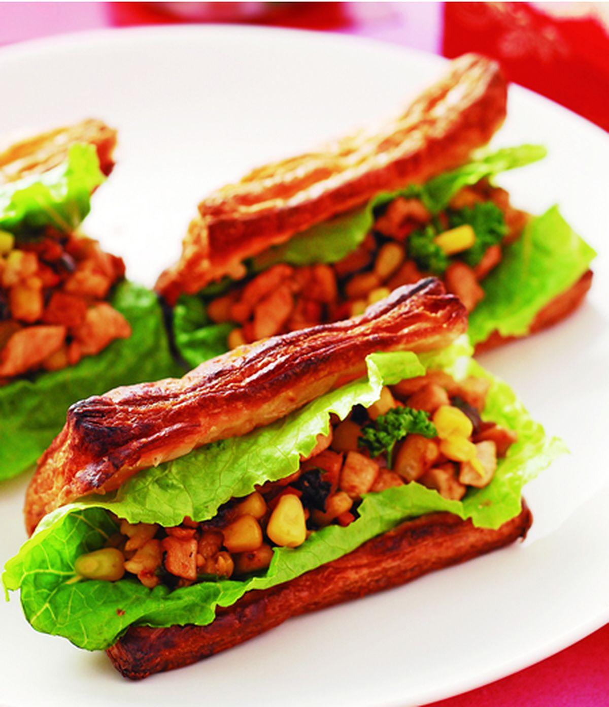 食譜:雞丁玉米炒