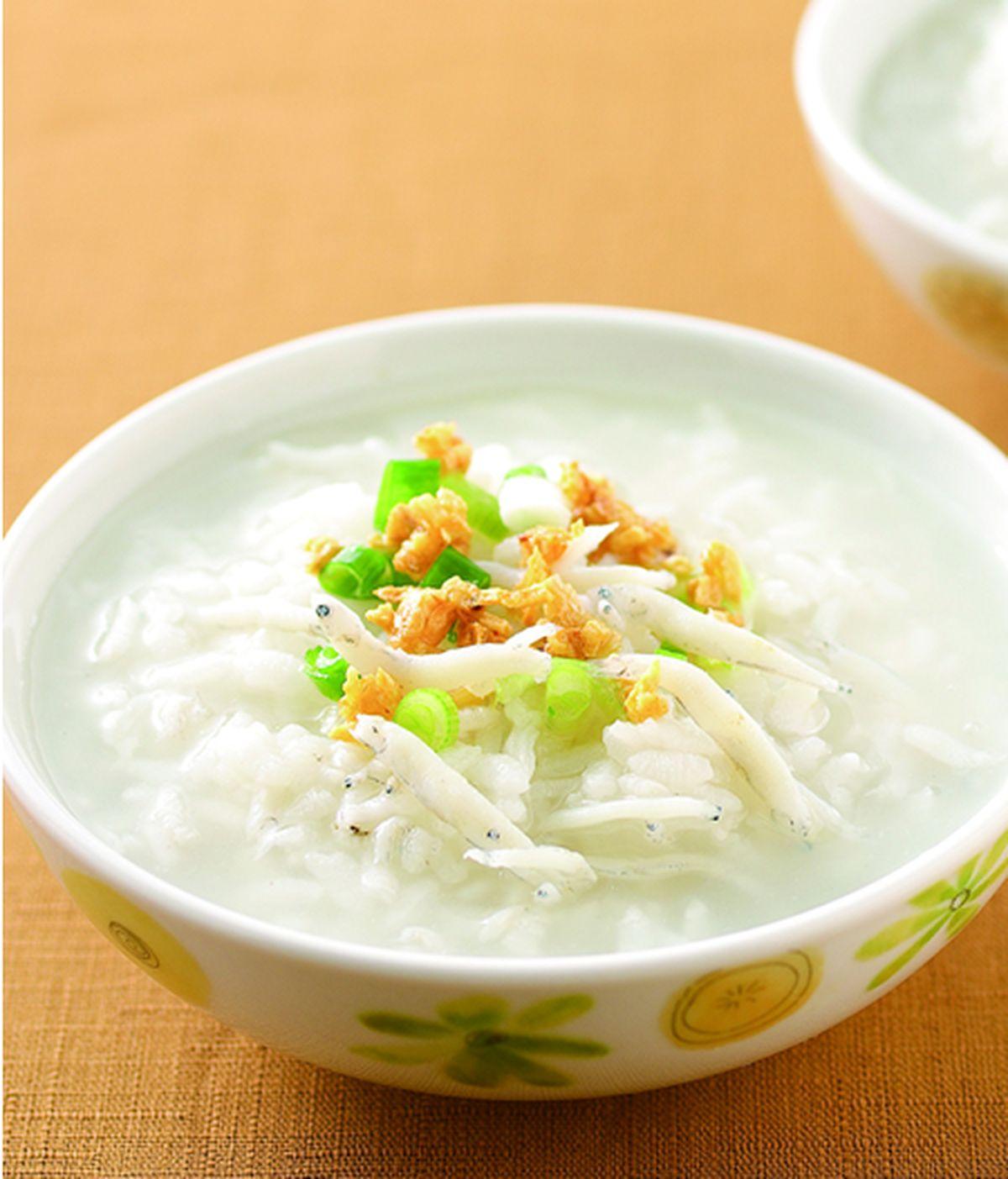 食譜:吻仔魚粥(5)