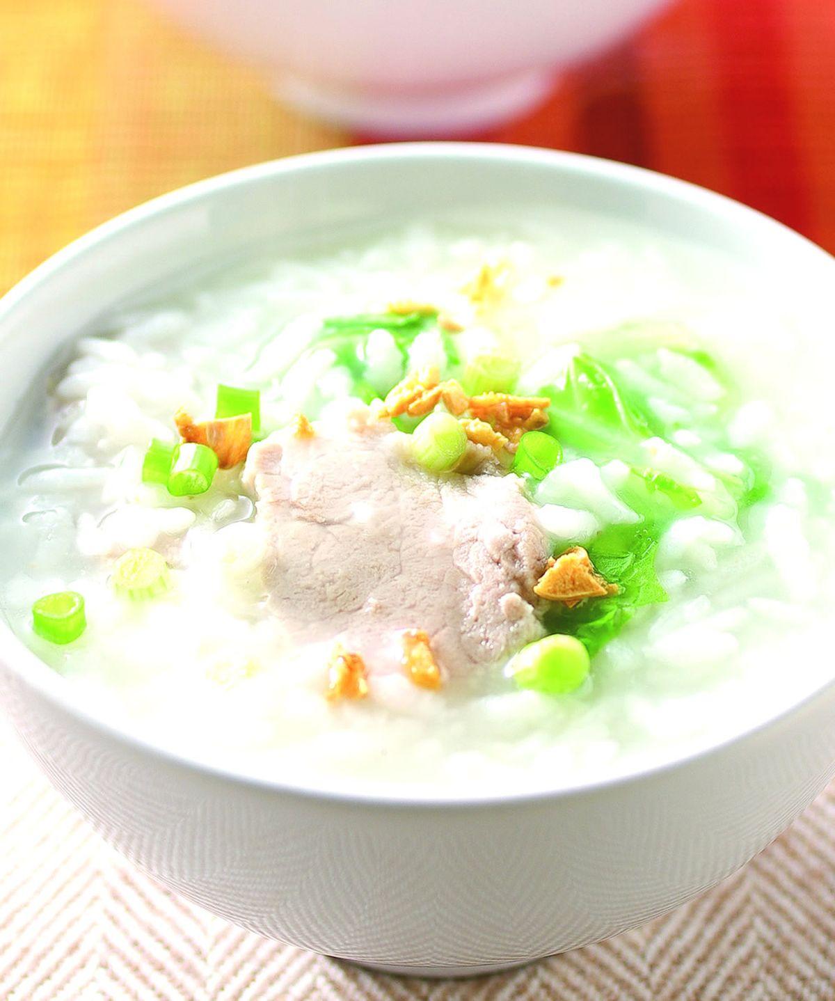 食譜:肉片粥(1)