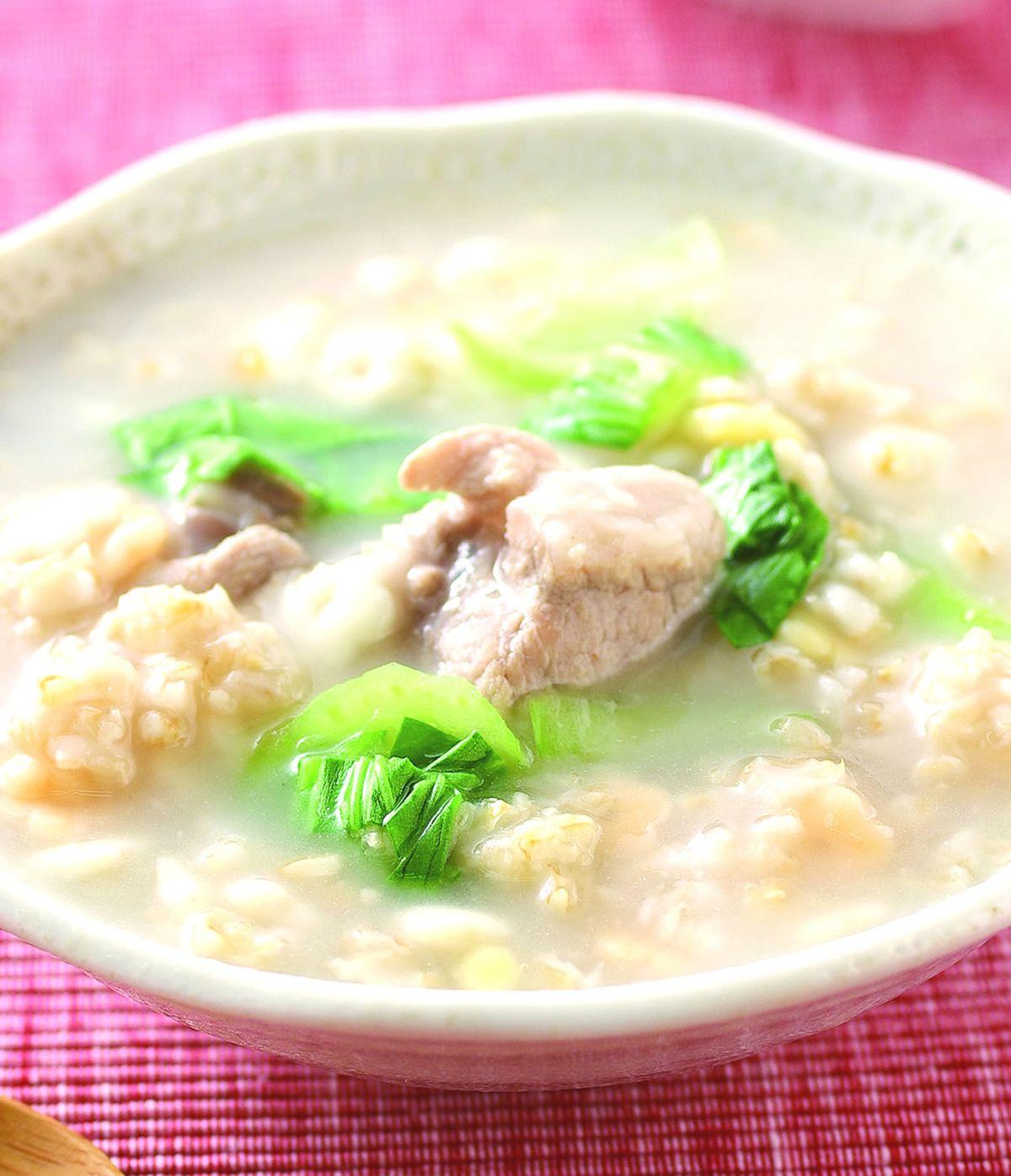 食譜:排骨燕麥粥