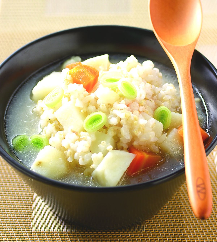 食譜:大骨糙米粥