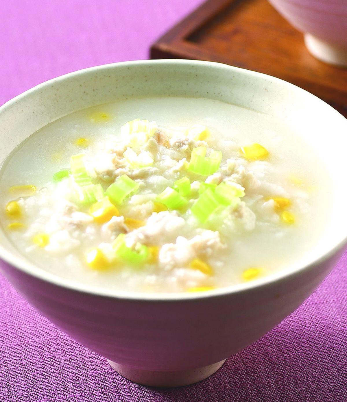 食譜:玉米雞蓉粥