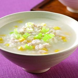玉米雞蓉粥